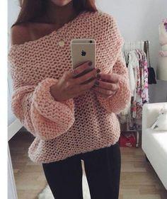 Ciepły sweterek na jesienne wieczory