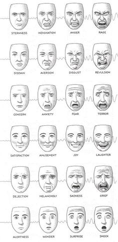 names of facial expressions / expressions names . facial expressions names . facial expressions with names . face expressions names . names of facial expressions . expressions with name . anime face expressions names Drawing Lessons, Drawing Techniques, Drawing Tips, Drawing Reference, Drawing Drawing, Face Expressions, Learn To Draw, Art Tutorials, Art Drawings