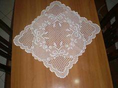 Home Decor Crochet Patterns Part 131 - Beautiful Crochet Patterns and Knitting Patterns Crochet Table Runner Pattern, Crochet Doily Diagram, Crochet Doily Patterns, Crochet Art, Thread Crochet, Crochet Doilies, Knitting Patterns, Fillet Crochet, Crochet Home Decor