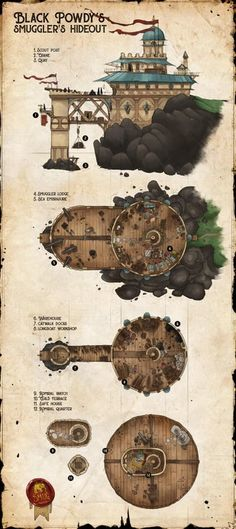 Inocyde Worlds builder - Game Art Fantasy Concept Art, Fantasy Map, Fantasy World, Dungeons And Dragons Homebrew, D&d Dungeons And Dragons, Game Design, Building Map, Building Ideas, Rpg Map