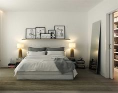4 Experienced Clever Tips: Minimalist Home Bedroom Interior Design minimalist kitchen blue simple.Minimalist Home Organization Bookshelves minimalist bedroom master rugs. Interior Design Minimalist, Minimalist Bedroom, Minimalist Home, Swedish Interior Design, Minimalist Furniture, Peaceful Bedroom, Home Bedroom, Bedroom Ideas, Bedroom Inspiration