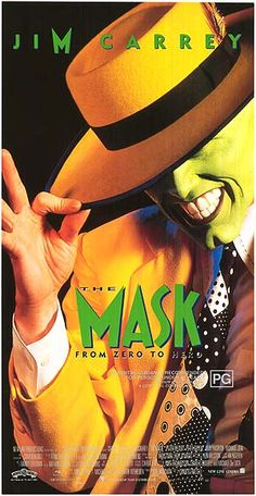 The Mask - Chuck Russell 90s Movies, 3 Movie, Love Movie, Great Movies, Movies To Watch, To The Bone Movie, Beatles, Cinema, Little Brothers