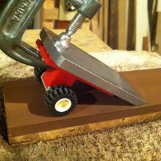 """""""My precision made Danish honing guide is working wonders on this Hock iron…"""