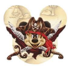 mickey pirate clipart - Google Search