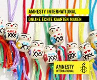 Maak je eigen wenskaart in de webshop van Amnesty!