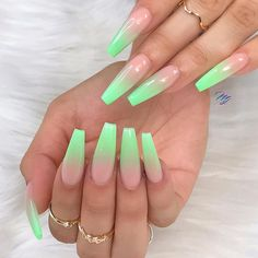Perfect and Nice Nail Trends You're Going To Try… – Long Acrylic Nails Best Acrylic Nails, Summer Acrylic Nails, Acrylic Nail Designs, Nail Art Designs, Nails Design, Summer Nails, Perfect Nails, Gorgeous Nails, Pretty Nails