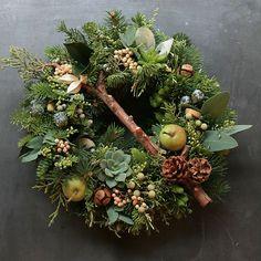 Image result for winter fresh wreaths diy