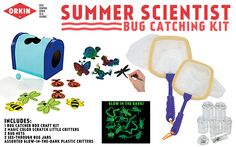 Mom Knows Best : Summer Scientist Bug Catching Kit Giveaway #LearnWithOrkin