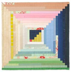 MUSK STICKS AND MINT LEAVES, quilt by Claire Turpin. Salvage/Selvedge group, silent auction (Perth, Australia)