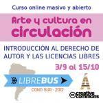 """Clase 3 de """"Arte y cultura en circulación"""": Modelos basados en licencias libres en el arte y la cultura"""
