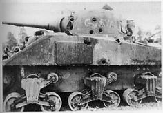 Many German Panther and Tiger tanks were destroyed because they could not turn their turrets fast enough to return fire. Description from in.pinterest.com. I searched for this on bing.com/images