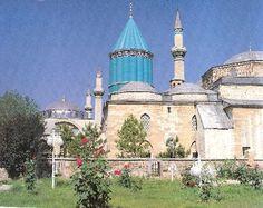 Mevlana  Celaleddini Rumi Tomb & Museum  / Konya  - Turkey