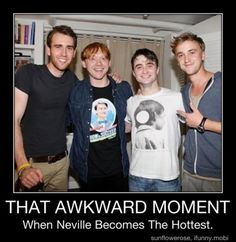 goofy neville evolves to hot neville