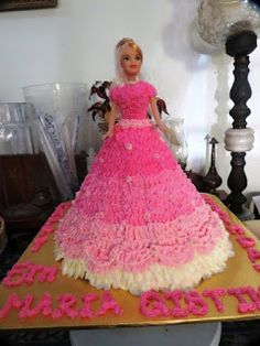 fadeliciouscakes: Barbie Doll