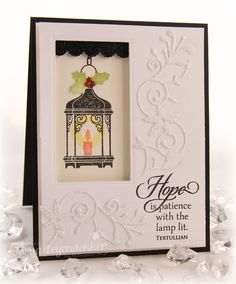 Christmas, Waltzingmouse Stamps, Stamp Talk with Tosh: Hope Lantern