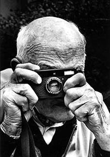 Henry Cartier Bresson. Did you really take all those great photographs with that old thing?