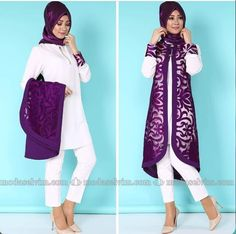 Islamic Fashion, Muslim Fashion, Modest Fashion, Girl Fashion, Fashion Outfits, Muslim Dress, Hijab Dress, Hijab Outfit, Hijab Style