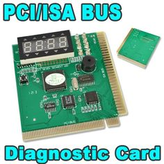AK PCI & ISA Motherboard Tester Diagnostics Display 4-Digit PC Computer Mother Board Debug Post Card Analyzer #shoes, #jewelry, #women, #men, #hats, #watches, #belts
