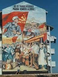 pinturas murais pos 25 de abril em lisboa - Pesquisa Google Baseball Cards, Painting, Art, Murals, Lisbon, Mural Painting, Paintings, April 25, Art Background