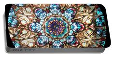 Kaleidoscope Portable Battery Charger featuring the photograph Kaleidoscope Ch2 by Equad Images