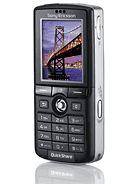 Sony Ericsson K750 specifications