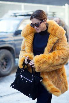 Best New York Fashion Week Street Style Fall 2015 - NYFW Street Style