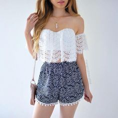 Simple Summer to Spring Outfits to Try in 2019 – Prettyinso Girls Fashion Clothes, Teen Fashion Outfits, Mode Outfits, Cute Fashion, Look Fashion, Outfits For Teens, Girl Fashion, Fasion, Cute Summer Outfits