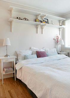 A Scandinavian bedroom