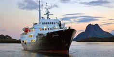 Bildergebnis für old Hurtigruten ship