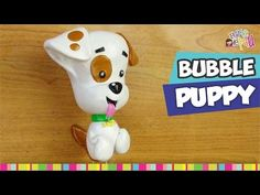 Bubble Guppies Bubble Puppy polymer clay figurine tutorial