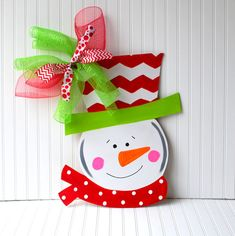 Hey, I found this really awesome Etsy listing at https://www.etsy.com/listing/170899056/door-hanger-snowman-christmas-decor