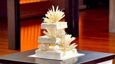 Adriano Zumbo Wedding Cake from Masterchef Adriano Zumbo, Zumbo Recipes, Zumbo Desserts, Cake Recipes, Zumba, Crystallised Ginger, Dessert Original, Masterchef Australia, Chocolate Curls