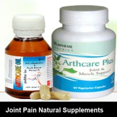 Its very important to take care of your joint pain with natural supplements.  #arthritis_naturalcure
