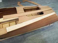 Modellisto-Blog: RIVA Ariston - Teil 5 - Hauptbeplankung Model Boat Plans, Diy Boat, Kayaking, Diy And Crafts, Sailing, Purple, Pond, Blog, Design