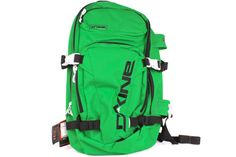 DAKINE Heli Pro 20L 8100575 664    Green / Black    The trusted pack for the serious rider. Multiple board carry-options and dedicated spots for backcountry gear. Created for charging any line, anytime, all day-long.