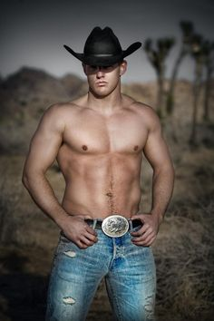 Big hunk of man Pure Country, Western Rodeo Hott Guy Sexy Built Abs Pecs Stud Buckled Belt Torn Jeans Desert Theme Cowboy Hat Cow Boys, Farm Boys, Cody Deal, Hot Country Boys, Country Life, Country Strong, Country Music, Hot Cowboys, Cowboy Up