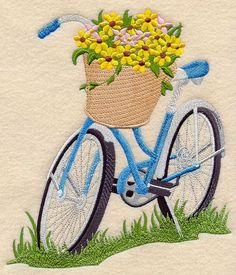 Image result for brother embroidery machine patterns bicycle