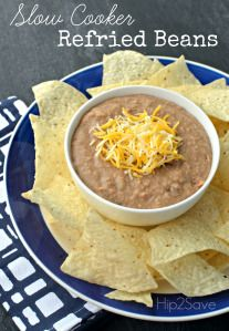 Have you ever wanted to make a healthier version of restaurant style refried beans? This delicious recipe is super simple – just toss all the ingredients into your slow cooker, wait a few hours, mash them up and you're done! These beans taste so yummy and flavorful – I promise you'll never want to buy […]