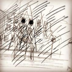 #1990 #vienna #inschwebe #skizze #lichtinstallation #diaprojektion #fassade #fenster #dieangewandte #markuswintersberger