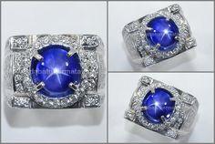 Natural No Heat Royal Blue SAFIR Star