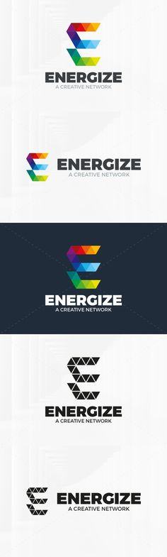 Energize - Letter E Logo