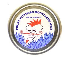 Count Justinian Moustache Wax Sticky as Hell by CJMoustacheWax, $8.00