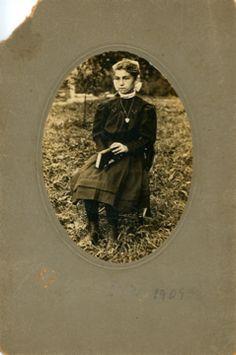 Jean Marie Calendar taken in 1909, 12 years old.