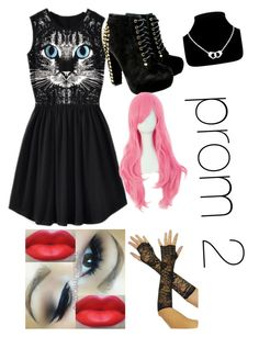 """prom 2"" by undeadchild ❤ liked on Polyvore"