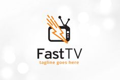 Fast TV Logo Template by @Graphicsauthor