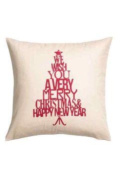 Copricuscino a tema natalizio