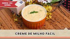 Creme de Milho Fácil - Receitas de Minuto EXPRESS #100