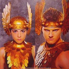clove and cato...their costumes are just cool.