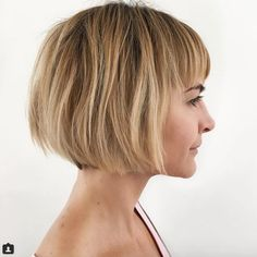 Highlighted bob by Ramirez Tran Salon