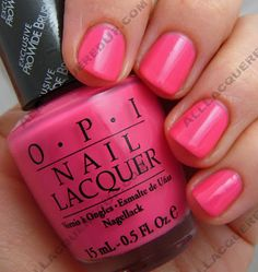 OPI India Spring 2008 Swatches :ElePhantastic Pink